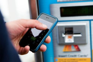 Ace Parking Ticket Machine pay by mobile phone