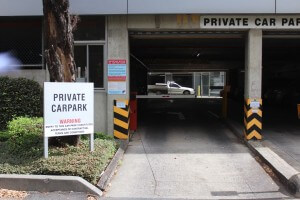 150 Albert Rd car park entry