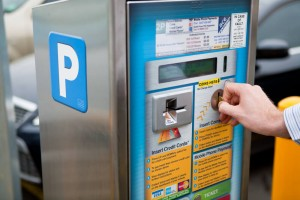 parking pay machine