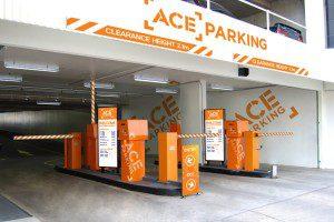 Bowen Crescent Car Park Entry