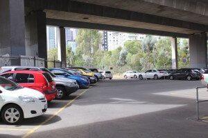 Meaden St Southbank car park