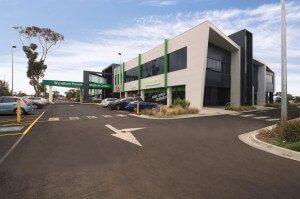 Wyndham private car park