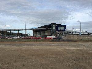 Williams Landing Train Station parking
