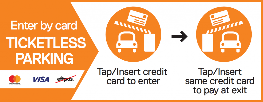 Ticketless Parking Credit Card Only